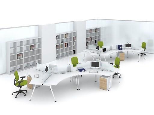 Thiết kế nội thất làm các khu tập trung