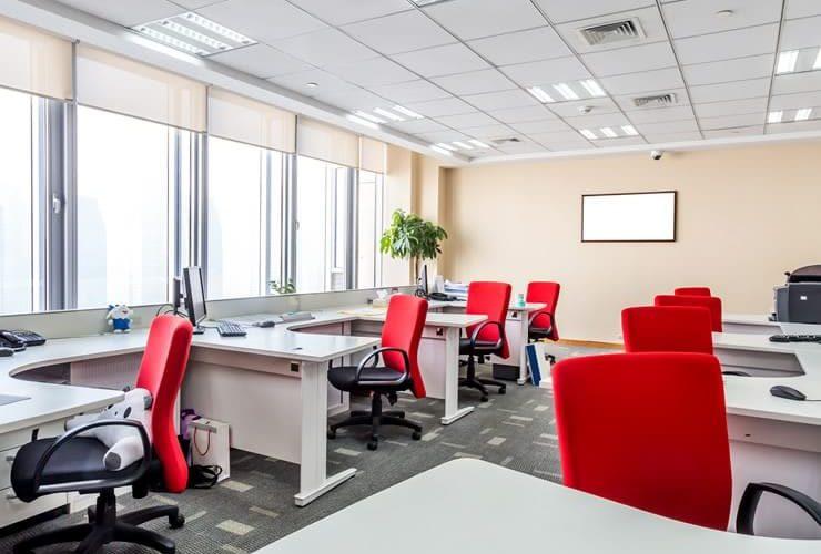 thiết kế nội thất văn phòng nhỏ